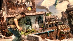 Uncharted 2: Coming up from behind