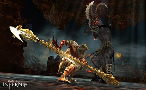 Dante with scythe