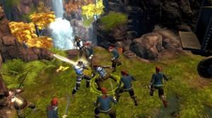 Dungeon Siege 3: Attack in the wilderness