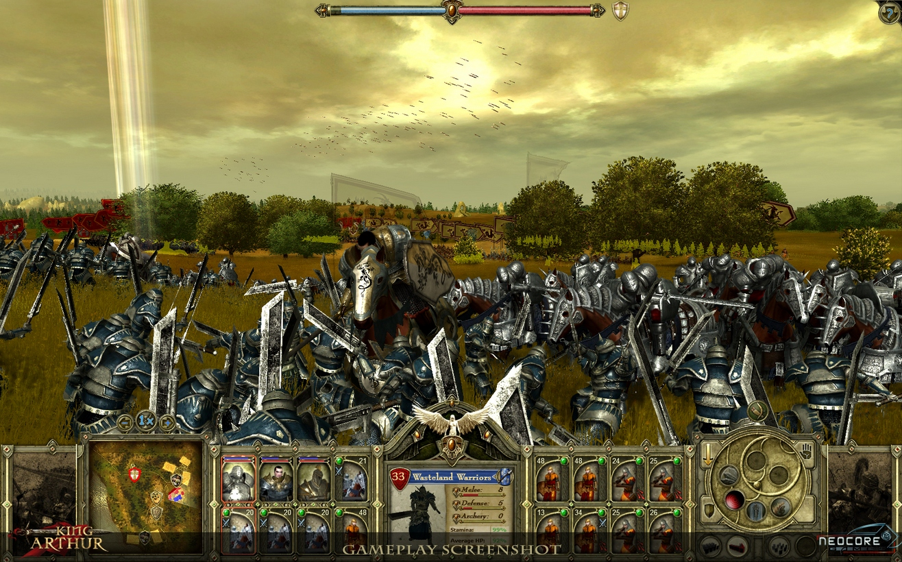 King Arthur: The Roleplaying Wargame - In the heat of battle