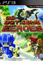 3D Dot Game Heroes PS3 box