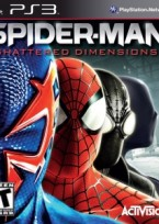 Spider Man Shattered Dimensions PS3 Box