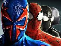 The four faces of Spiderman
