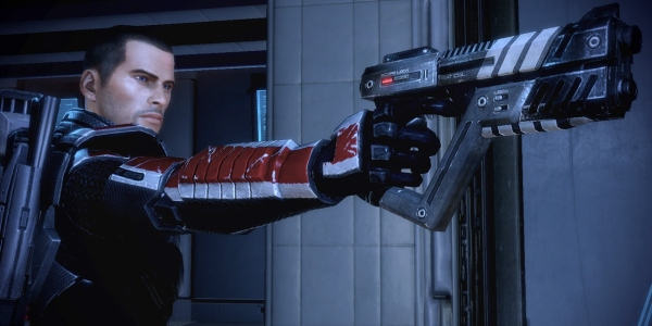 Sheppard with gun