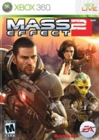 Mass Effect 2 Xbox 360 box