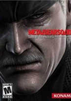 Metal Gear Solid 4 PS3 box