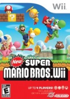 New Super Mario Bros. Wii box