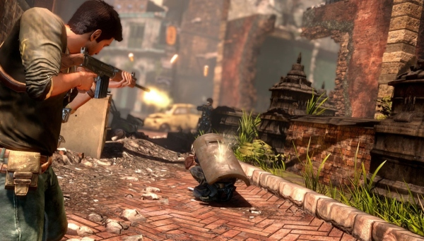 Uncharted 2: Street fight