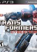 Transformers: War for Cybertron PS3 box