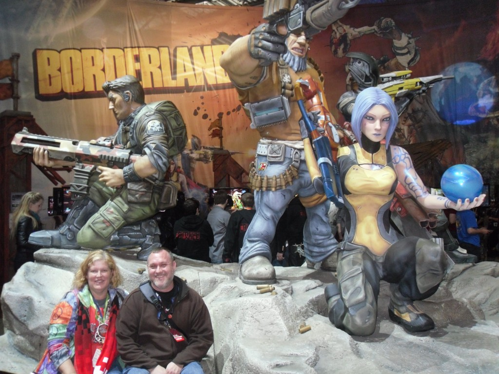 Borderlands exhibit at PAX East 2012