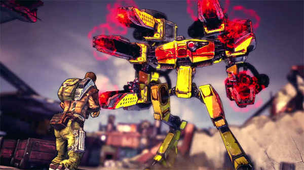 Borderlands 2: Big-ass Robot boss!