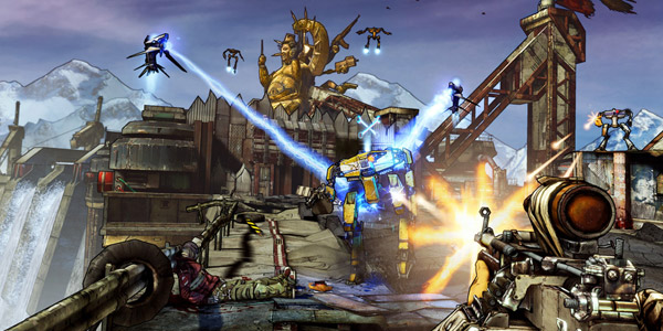 Borderlands 2: Die, robot, die!