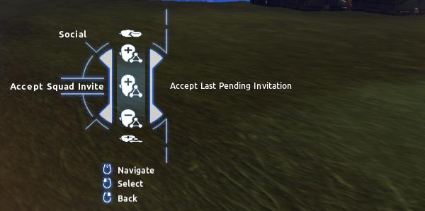 Social > Accept Squad Invite