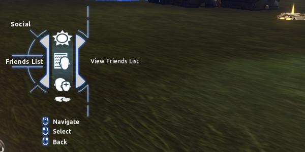 Social > Friends List