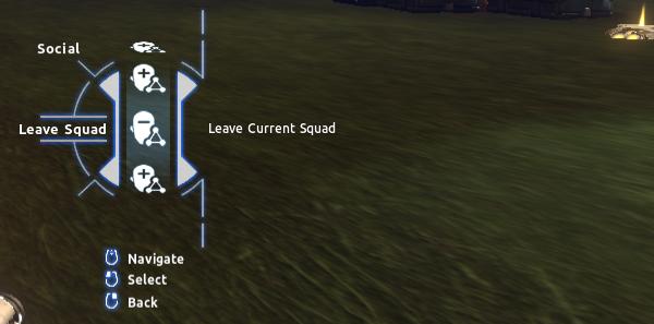 Social > Leave Squad