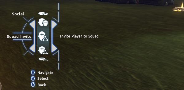 Social > Squad Invite