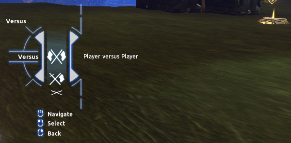 Versus > Player versus Player