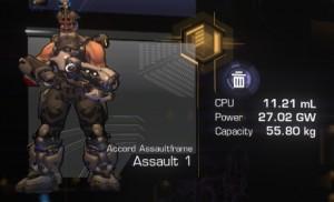 Tier 1 Assaultframe