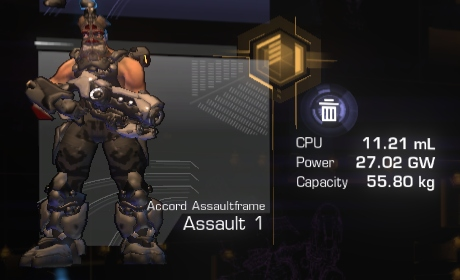 Tier 1 Assaultframe
